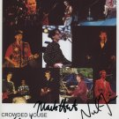 Crowded House (Band) SIGNED Photo + Certificate Of Authentication  100% Genuine