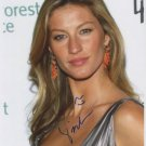 Gisele Bunchen SIGNED Photo + Certificate Of Authentication 100% Genuine