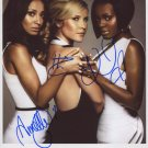 "The Sugababes FULLY SIGNED 8"" x 10"" Photo + Certificate Of Authentication  100% Genuine"