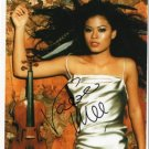 "Vanessa Mae SIGNED 8"" x 10"" Photo + Certificate Of Authentication  100% Genuine"