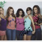 The Saturdays (Girl Band) FULLY SIGNED Photo + Certificate Of Authentication 100% Genuine