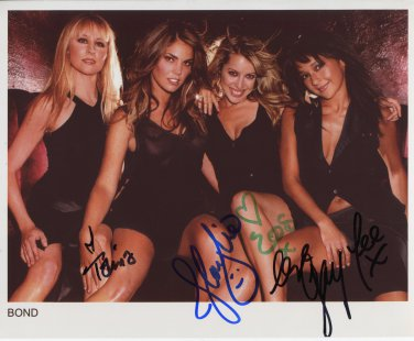 """Bond (Classical Girl Group) SIGNED 8"""" x 10"""" Photo + Certificate Of Authentication  100% Genuine"""