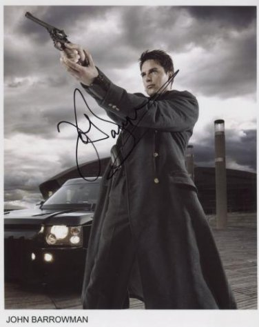 "John Barrowman SIGNED 8"" x 10"" Photo + Certificate Of Authentication  100% Genuine"