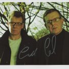 "The Proclaimers (Band) FULLY SIGNED 8"" x 10"" Photo + Certificate Of Authentication  100% Genuine"