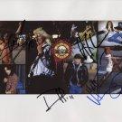 Guns 'N' Roses Axl Slash Duff + Sorum SIGNED Photo + Certificate Of Authentication 100% Genuine