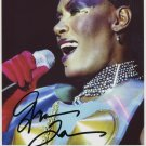 "Grace Jones SIGNED 8"" x 10"" Photo + Certificate Of Authentication  100% Genuine"