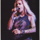 "Cherie Currie (The Runaways) SIGNED 8"" x 10"" Photo + Certificate Of Authentication  100% Genuine"