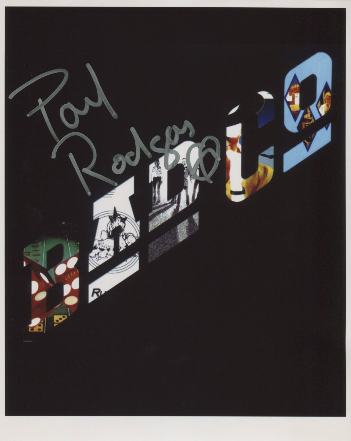 Paul Rodgers (Bad Company) SIGNED Photo + Certificate Of Authentication 100% Genuine