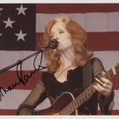 "Bonnie Raitt SIGNED 8"" x 10"" Photo + Certificate Of Authentication 100% Genuine"