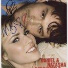 Daniel and Natasha Bedingfield SIGNED Photo + COA Lifetime Guarantee