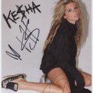 "Kesha Ke$ha SIGNED 8"" x 10"" Photo + Certificate Of Authentication 100% Genuine"