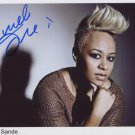 "Emeli Sande SIGNED 8"" x 10"" Photo + Certificate Of Authentication 100% Genuine"