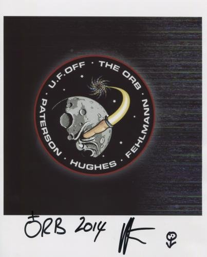 The Orb Alex Paterson SIGNED Photo + Certificate Of Authentication  100% Genuine