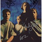 Ride (Indie Shoegaze Band) Andy Bell FULLY SIGNED Photo + Certificate Of Authentication 100% Genuine