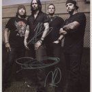 "Alter Bridge (Band) SIGNED 8"" x 10"" Photo + Certificate Of Authentication 100% Genuine"