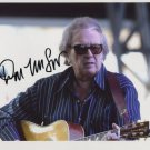 "Don McLean SIGNED 8"" x 10"" Photo + Certificate Of Authentication 100% Genuine"