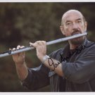 "Ian Anderson Jethro Tull SIGNED 8"" x 10"" Photo + Certificate Of Authentication  100% Genuine"