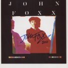 "John Foxx SIGNED 8"" x 10"" Photo + Certificate Of Authentication 100% Genuine"