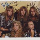 Europe (Band) Joey Tempest FULLY SIGNED  Photo + COA 100% Genuine