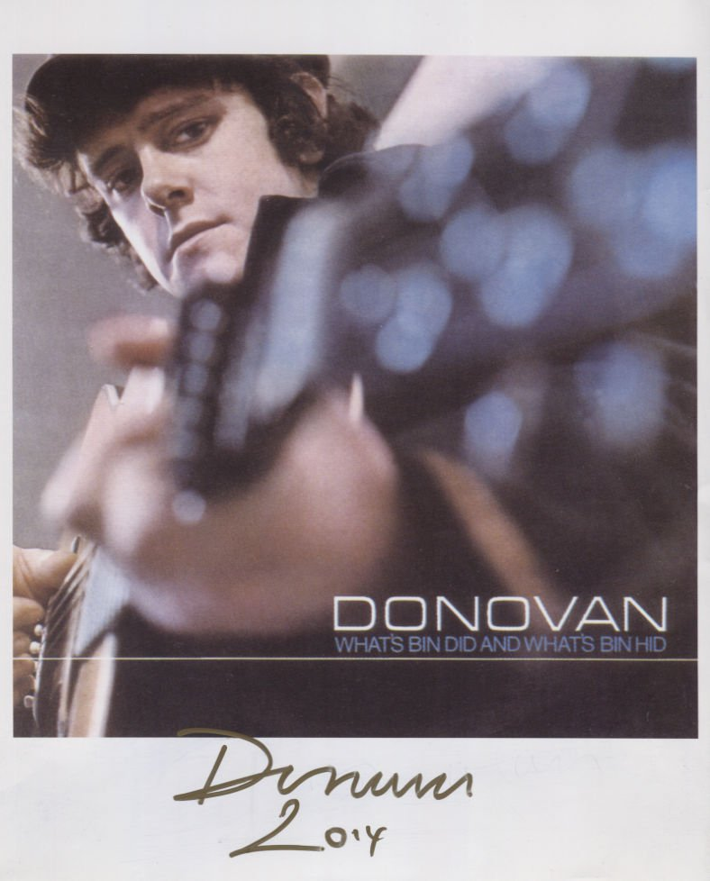 Donovan (Leitch) (Singer) SIGNED Photo + Certificate Of Authentication  100% Genuine