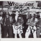 Big Audio Dynamite FULLY SIGNED Photo + Certificate Of Authentication  100% Genuine