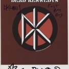 "Dead Kennedys Jello Biafra FULLY SIGNED 8"" x 10"" Photo + COA 100% Genuine"