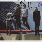 """Alt-J (Band) FULLY SIGNED 8"""" x 10"""" Photo + Certificate Of Authentication 100% Genuine"""