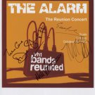 The Alarm (Band) Mike Peters FULLY SIGNED Photo + Certificate Of Authentication 100% Genuine