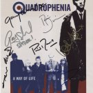 Quadrophenia (Movie) 7 Cast Members FULLY SIGNED Photo + Certificate Of Authentication 100% Genuine