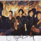"Snow Patrol (Band) FULLY SIGNED 8"" x 10"" Photo + Certificate Of Authentication  100% Genuine"