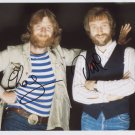 Chas Hodges And Dave Peacock FULLY SIGNED Photo + Certificate Of Authentication 100% Genuine