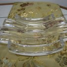BEAUTIFUL COLLE HEAVY CRYSTAL PLATE - COLLECTIBLE