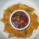 Loaded Nachos with Salsa FAUX FOOD PROP-  C.A.C China