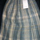 Sz 10 *New* Knife Pleated Plaid skirt - Made in Scotland