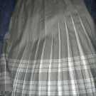 Size 14 *New* Grey Tones Box pleated skirt made in Scotland