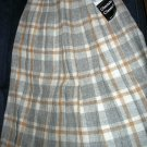 Size 10 *New* Knife Pleated Plaid skirt - Made in Scotland