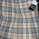 Size 12 *New* Knife Pleated Plaid skirt - Made in Scotland