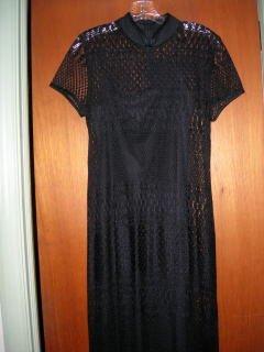 Size 12 Black two-piece formal dress NWOT