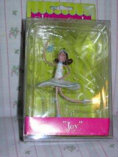 """Ballerina Ornament """"Joy"""" from 'Glitter Girls'"""