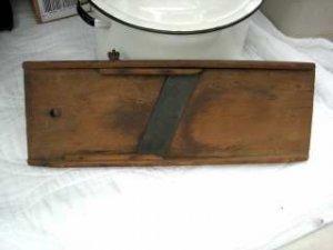 Vintage Slaw Board..hand crafted... Lancaster PA......