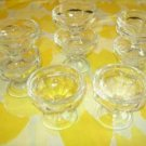 8 Sherbet/pudding/fruit glasses ... restaurant ware