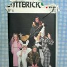 Adult Halloween Costumes - Butterick 3372 UNUSED