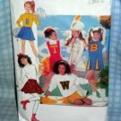Cheerleader / Majorette Costume Pattern Butterick 6733