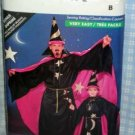 Child Wizard Halloween Costume Pattern Butterick 5873-B