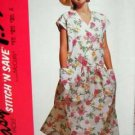 Misses (10 - 16) Dress UNUSED Easy 'Stitch 'N Save' McCall's 5913