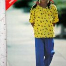 Child Sz (5-6-6X) 'See and Sew' USED Butterick 6941Top and Pants