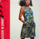 Misses Sz (6-12) Jumpsuit ... EASY 'Stitch 'N Save' UNUSED McCalls 5921
