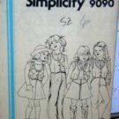 Girl sz 6 Pants/Skirt/Vest UNUSED pattern Simplicity 9090