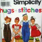 Child (5-6X) Blouse Jumper Jumpsuit USED Simplicity 8017