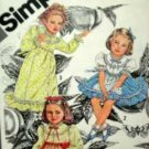 Child Sz 5 Cindarella Dress in 2 lengths Simplicity 9939 unused pattern